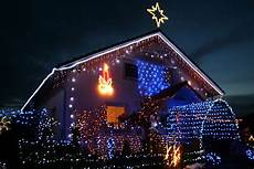 Haus Mit Weihnachtsbeleuchtung - led lichterketten strom sparender weihnachtsschmuck f 252 r