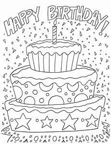 Malvorlagen Geburtstag Free Happy Birthday Coloring Page And Hershey