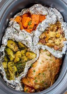 slow cooker thanksgiving dinner for 2 dinner then dessert