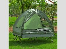 SoBuy® Double Foldable Camping Bed with Tent, Air Mattress