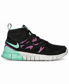 lyst nike s free run 2 mid sneakerboot from finish