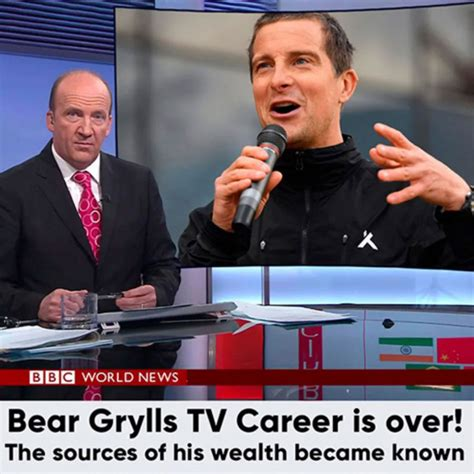 How Fake Is Bear Grylls