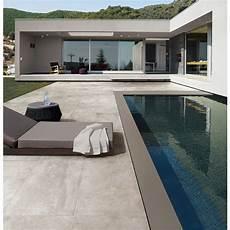 carrelage terrasse exterieur moderne carrelage ext 233 rieur effet b 233 ton 45 5x91 grigio out