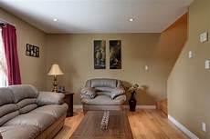 light brown living room walls