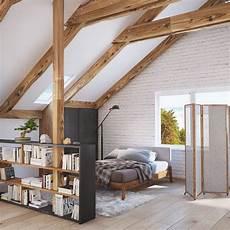 Dachgeschoss Ausbauen Ideen - 4 stylish homes with slanted ceilings