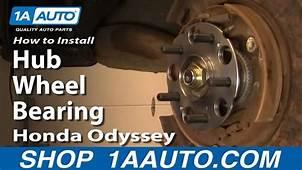 How To Replace Wheel Bearing & Hub Assembly 99 04 Honda