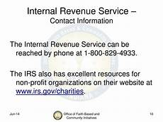 internal revenue service information ppt starting a non profit organization in indiana powerpoint presentation id 1358017
