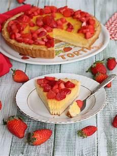 crema pasticcera senza cottura crostata crema e fragole ricetta furba senza cottura in bianco ricette idee alimentari