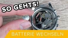 so gehts uhr batterie wechseln alle arten