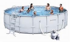 Poolset Mit Sandfilteranlage - bestway steel pro pool set 549x132 mit sandfilter 56464 b