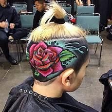 89 besten rasierte haare muster bilder auf