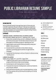 resume objective for library position librarian resume sle writing guide rg
