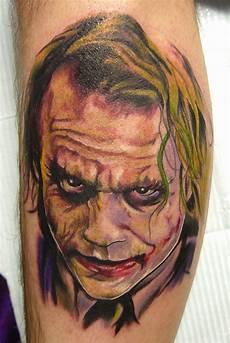 heath ledger joker tattoo by carter moore tattoos