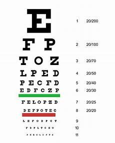 Snellen Eye Examination Chart Eye Examination Wikipedia