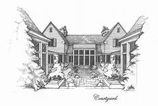 mcalpine tankersley house plans courtyard view of a house in birmingham al by mcalpine