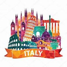 italia clipart italie horizon illustration image vectorielle
