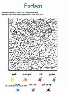Ausmalbilder Zahlen Und Farben Spiele Im Deutschunterricht Malen Nach Zahlen Ohne