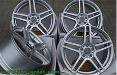Pack Jantes Mercedes Amg 18 Quot Pouces Silver Classe C W204 07
