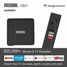 Mecool S905x3 16gb Emmc Android Wifi by Mecool Km1 S905x3 Atv 4gb Ddr Ram 32gb Emmc Rom Android 9