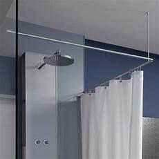 duschvorhangstange badewanne l form phos duschvorhangstange edelstahl d se 900 900 mm l form