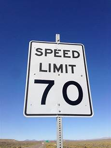 Some Roads In Area Will Not Go Up To 70 Per Hour