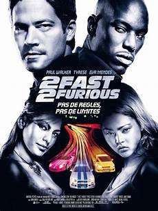 affiche fast and furious 2 fast 2 furious 2003 allocin 233