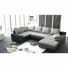 housse de canapé pas cher gris canap 233 d angle panoramique 6 places joya gris et noir pu