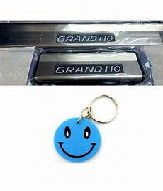 i10 91 g cartime grand i10 led footstep set of 4 with free smiley key chain buy cartime grand i10