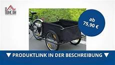 Fahrradanhänger Kaufen - homcom transportanh 228 nger lastenanh 228 nger fahrradanh 228 nger