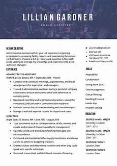 40 modern resume templates free to download resume genius