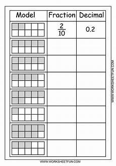 introducing decimals worksheets 7174 model fraction decimal 1 png 1 125 215 1 600 pixels math fractions homeschool math fractions