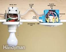 install a wireless light switch the family handyman
