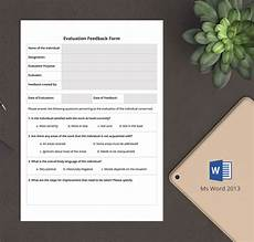 6 free hr evaluation forms interview training activity free premium templates