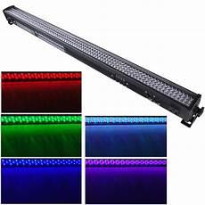 1 2 4 6pcs 252x10mm led rgb wall wash bar light dmx512 dj club party disco stage ebay
