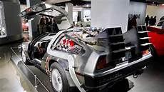 the real back to the future delorean at petersen auto