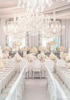 a very white very opulent wedding via wedluxe com the