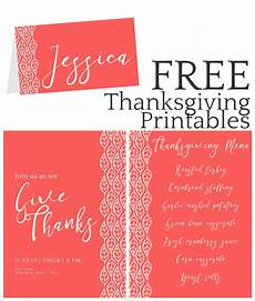 thanksgiving 2017 place card templates thanksgiving printables invitation place cards menus