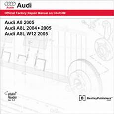 car repair manuals online free 2004 audi a8 electronic valve timing audi a8 w12 repair manual on cd rom 2004 2005 xxxad35