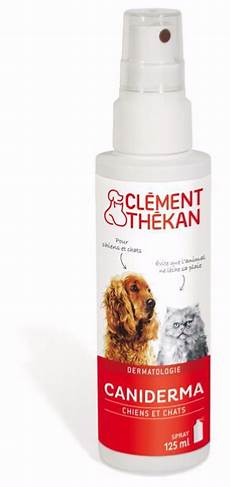 clement thekan caniderma spray d 233 sinfectant pour chat et