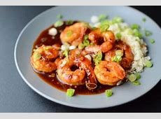 sweet and spicy garlic shrimp_image