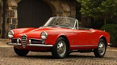 Vintage Alpha Romeo 1956 Alfa Romeo Giulietta Spider