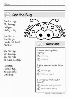 poem worksheet third grade 25391 reading comprehension fluency phonics poems
