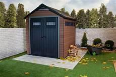 destockage abri de jardin abri de jardin en bois composite fusion en destockage