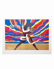 Perrier C Est Fou By Bernard Villemot 1980 Original
