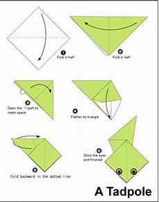 Tadpole Easy Origami For