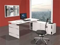 komplett arbeitsplatz form 4 wangenschreibtisch mit sideboard