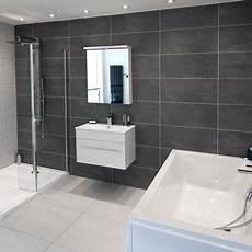 Badezimmer Graue Fliesen - cementi grey porcelain wall floor tile better bathrooms