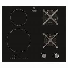 Table De Cuisson Mixte Gaz Et Induction Electrolux