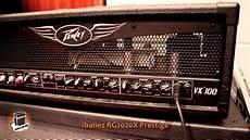 Review Peavey Valveking 100 5 Different Guitars