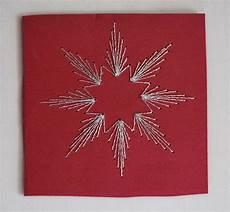 weihnachtskarte gestickter weihnachtskarten
